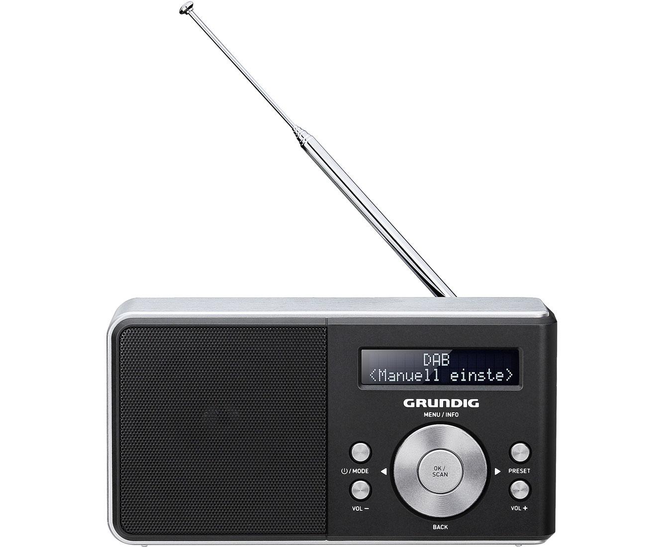 Grundig music dab radio schwarz