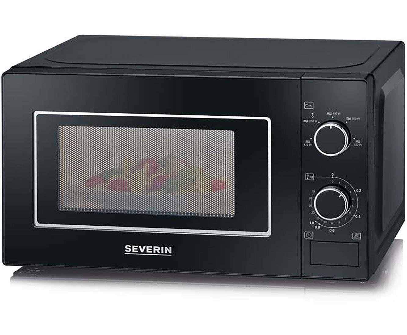Severin MW 7897 Mikrowellen - Schwarz | Küche und Esszimmer > Küchenelektrogeräte > Mikrowellen | Schwarz | Severin
