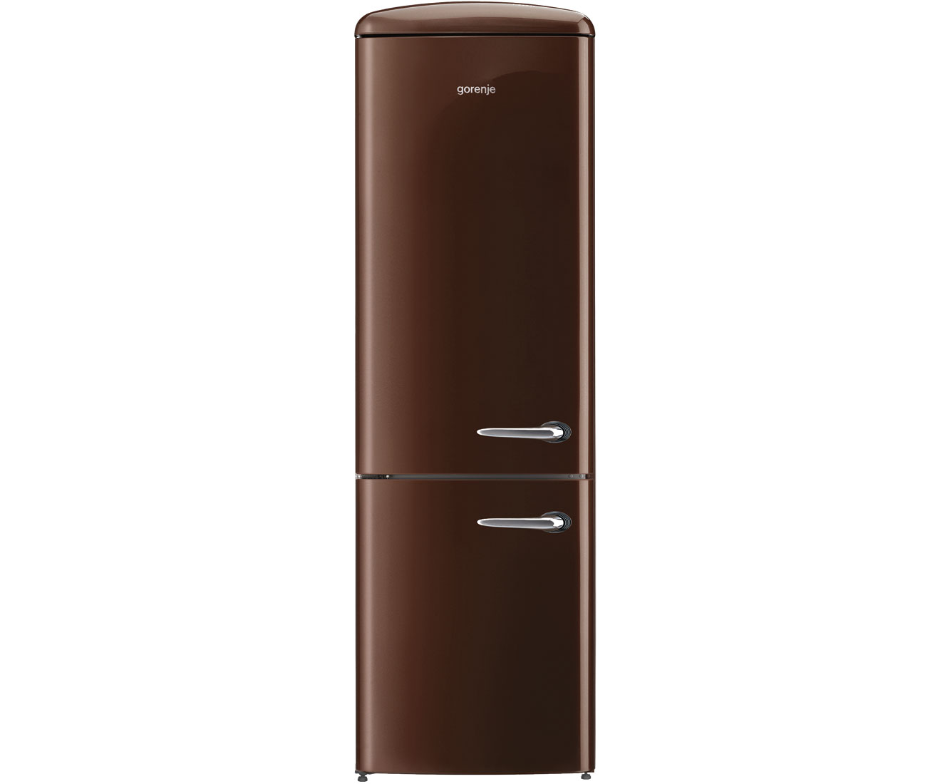 Gorenje Kühlschrank Gefrierkombination : Gorenje retro collection onrk 193 ch l kühl gefrierkombination mit