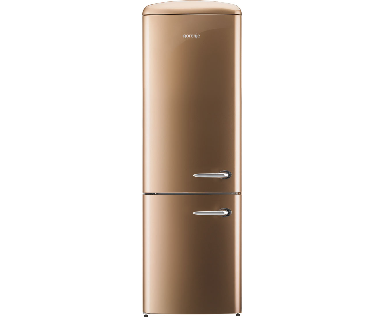Gorenje Kühlschrank Friert : Gorenje retro collection onrk co l kühl gefrierkombination mit