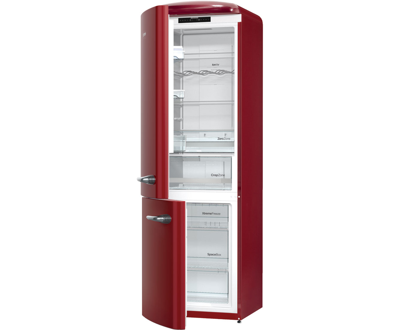 Retro Kühlschrank No Frost : Gorenje retro collection onrk 193 r l kühl gefrierkombination mit no