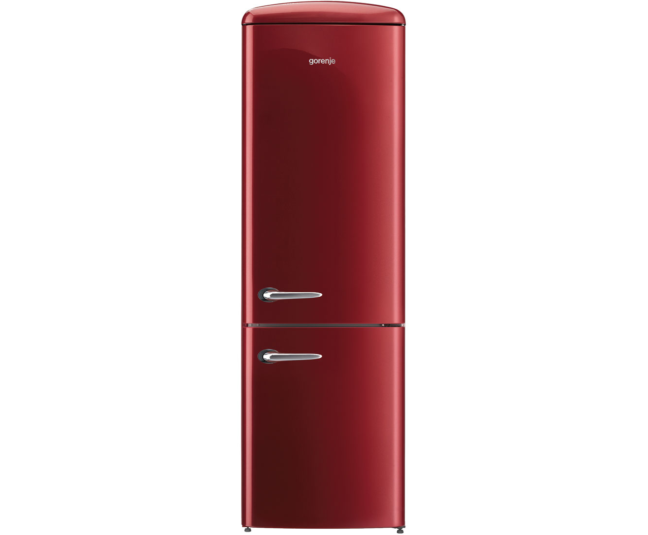 Gorenje ONRK 193 R Kühl-Gefrierkombinationen - Rot | Küche und Esszimmer > Küchenelektrogeräte > Kühl-Gefrierkombis | Rot | Gorenje