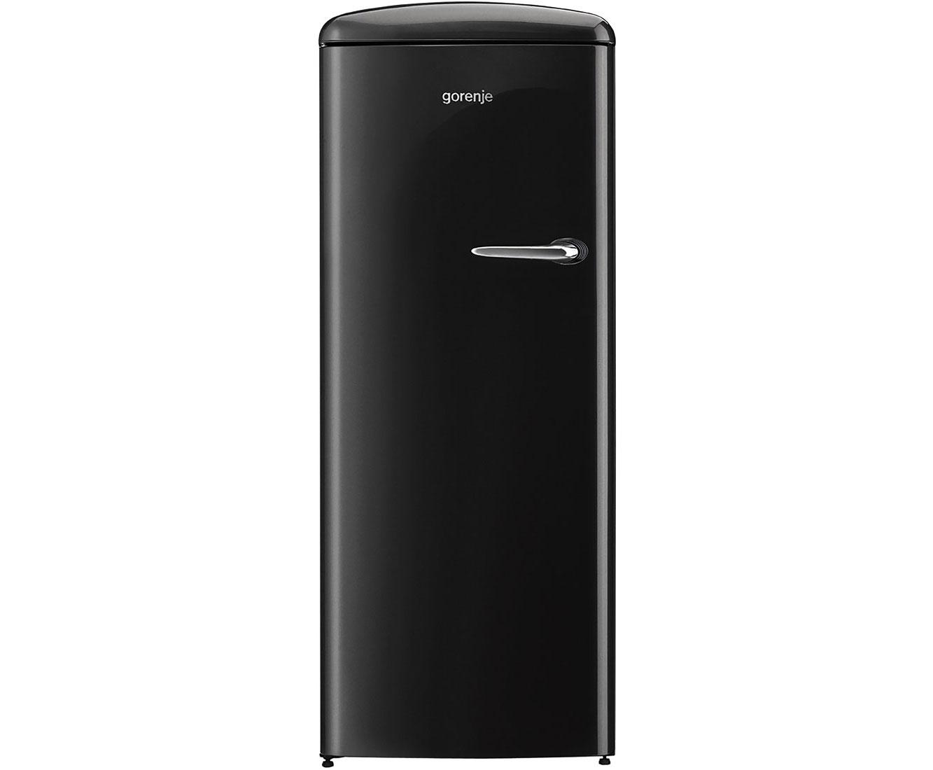 Gorenje Kühlschrank Einstellen : Gorenje retro collection orb bk l kühlschrank mit gefrierfach