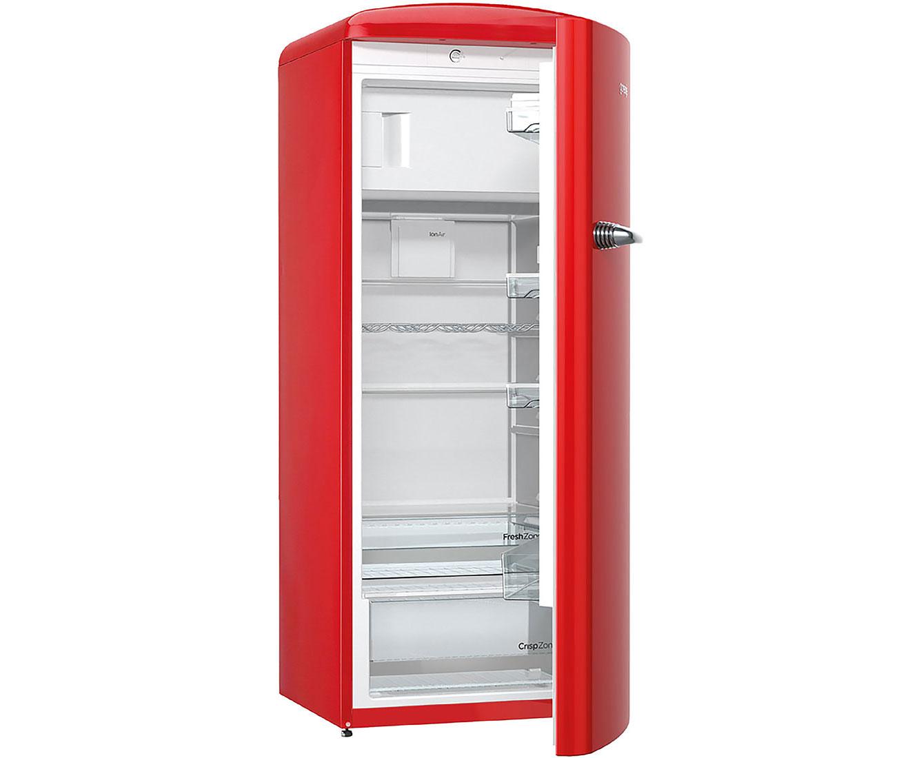 Retro Kühlschrank Rot Gorenje : Gorenje retro collection orb rd kühlschrank mit gefrierfach