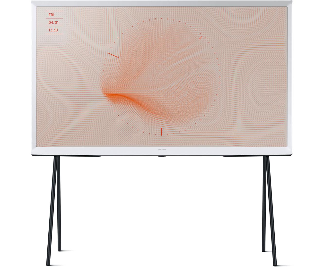 Samsung QE49LS01RAUXZG Fernseher - Keramikweiß