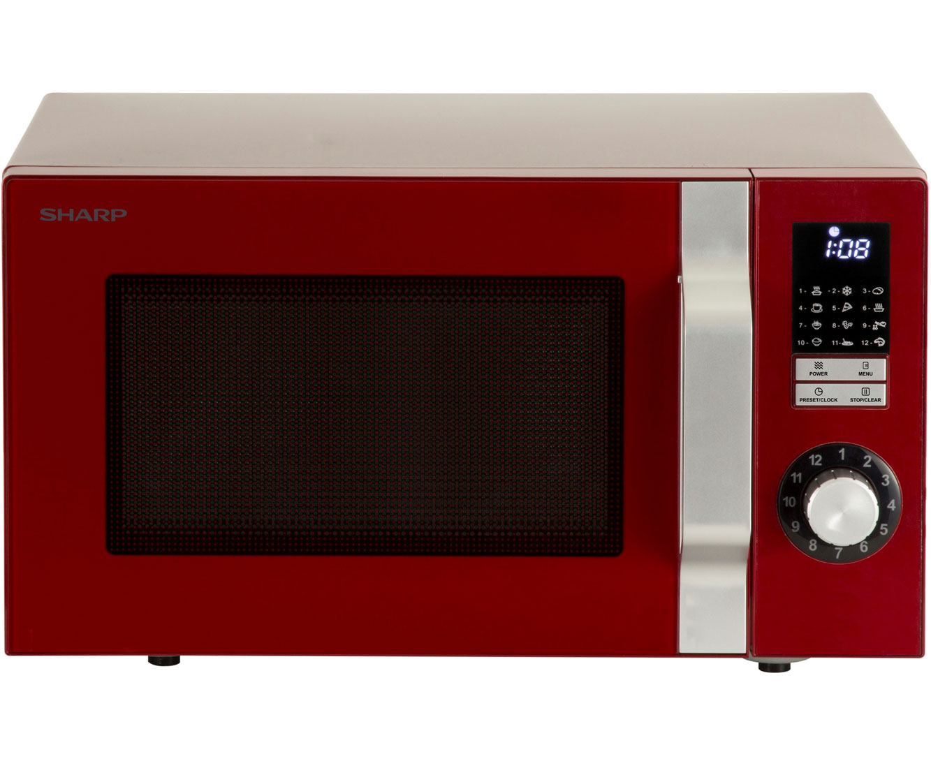 Sharp Vestel R344RD Mikrowellen - Rot | Küche und Esszimmer > Küchenelektrogeräte > Mikrowellen | Rot | Sharp Vestel