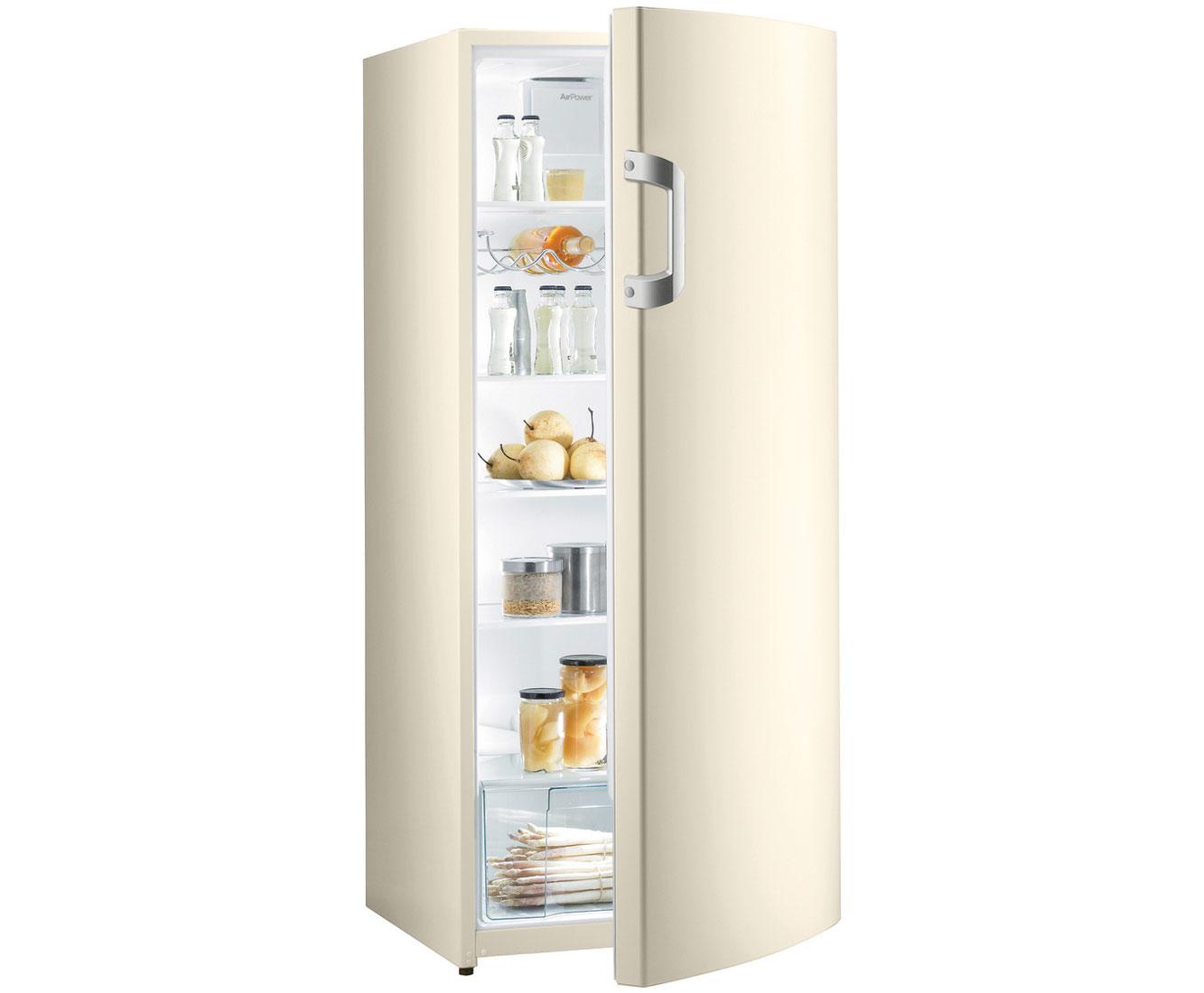 Gorenje Kühlschrank Haltbarkeit : Gorenje r bc kühlschrank champagner a
