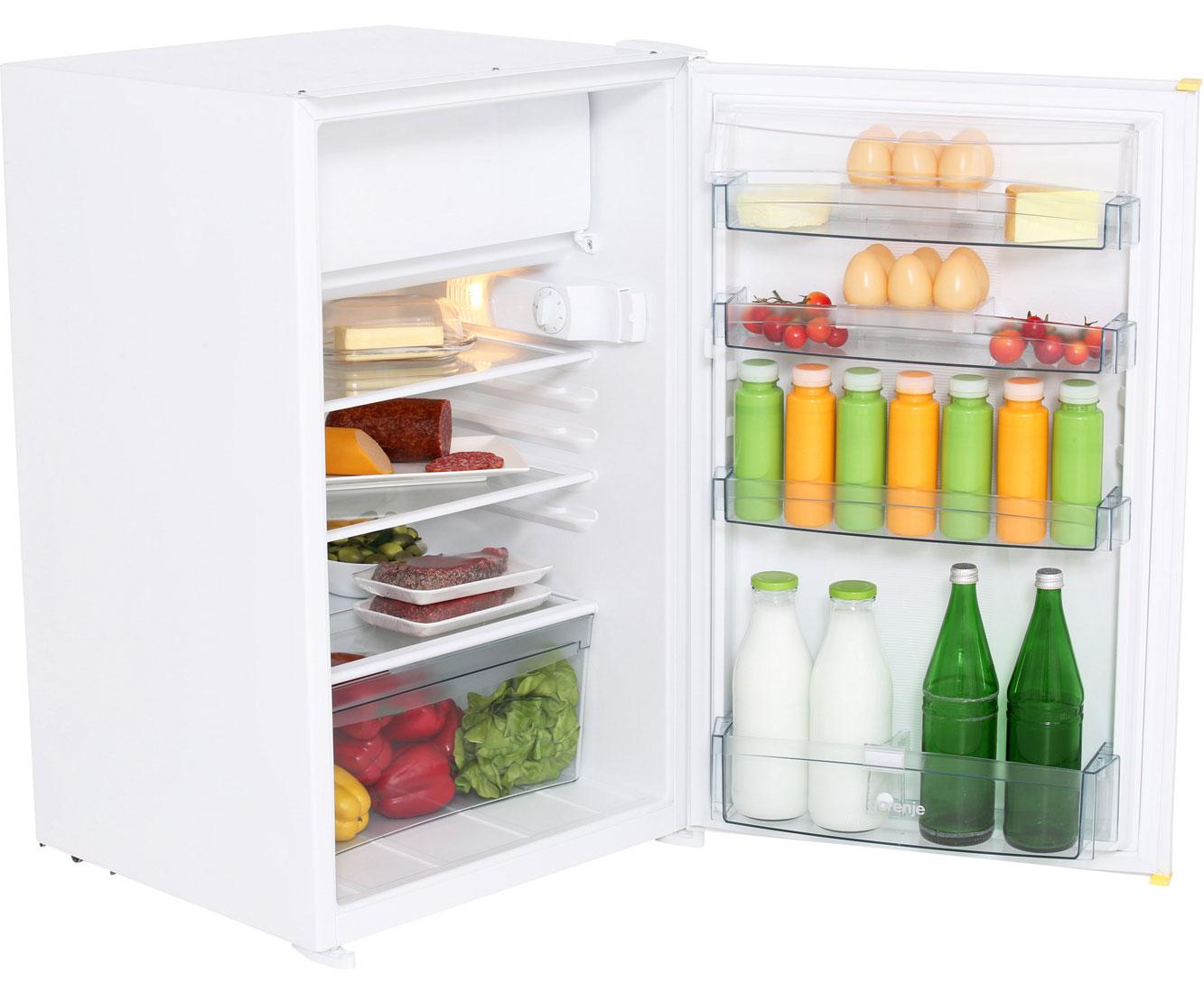 Kleiner Kühlschrank Ohne Gefrierfach : Gorenje rbi aw einbau kühlschrank mit gefrierfach er nische