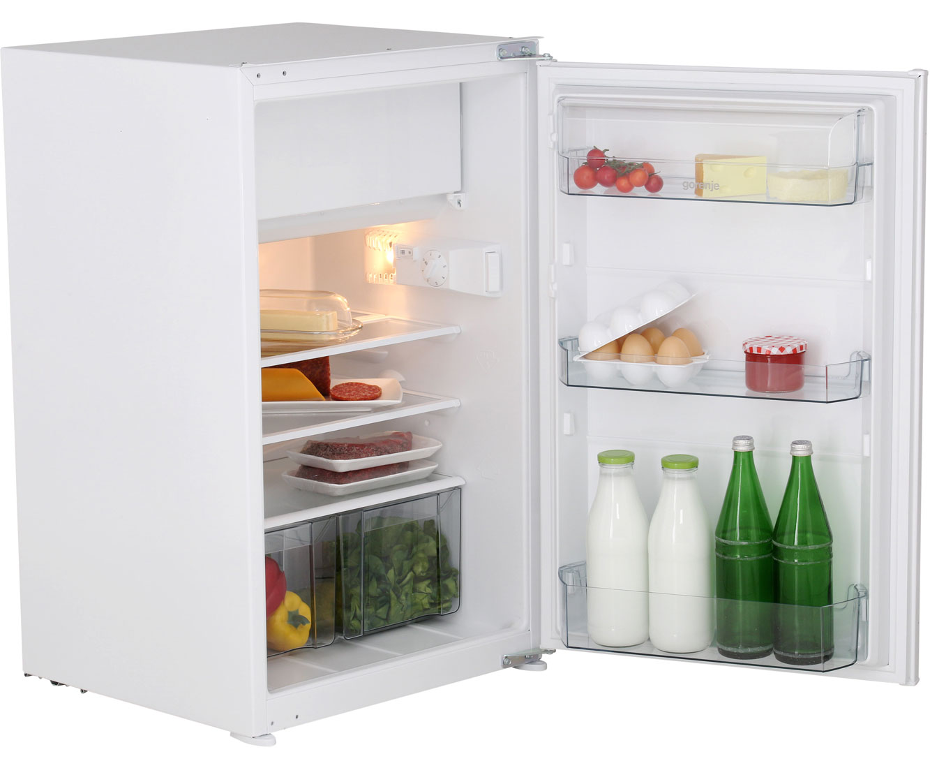 Gorenje RBI 4093 AW Einbau-Kühlschrank mit Gefrierfach - 88er Nische ...