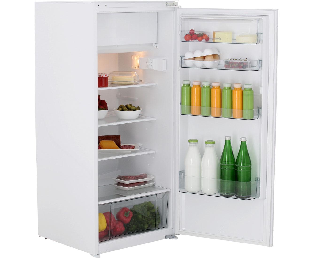 Gorenje Kühlschrank Gute Qualität : Gorenje rbi4122aw einbau kühlschrank mit gefrierfach 122er nische