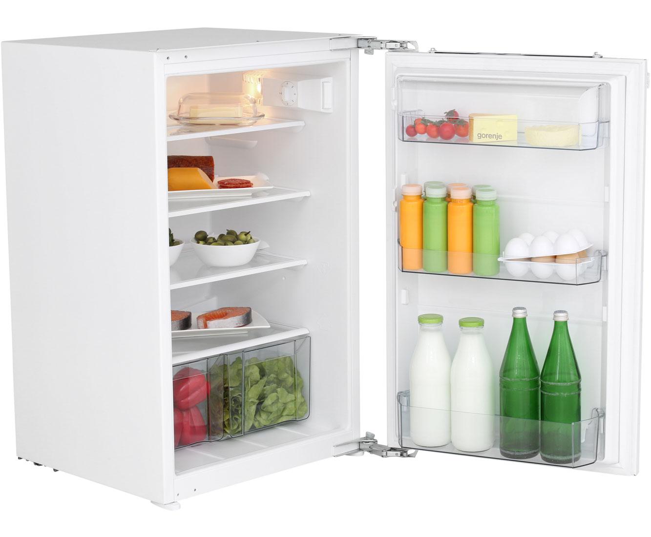 Gorenje Kühlschrank : Gorenje ri5092aw einbau kühlschrank 88er nische festtür technik a