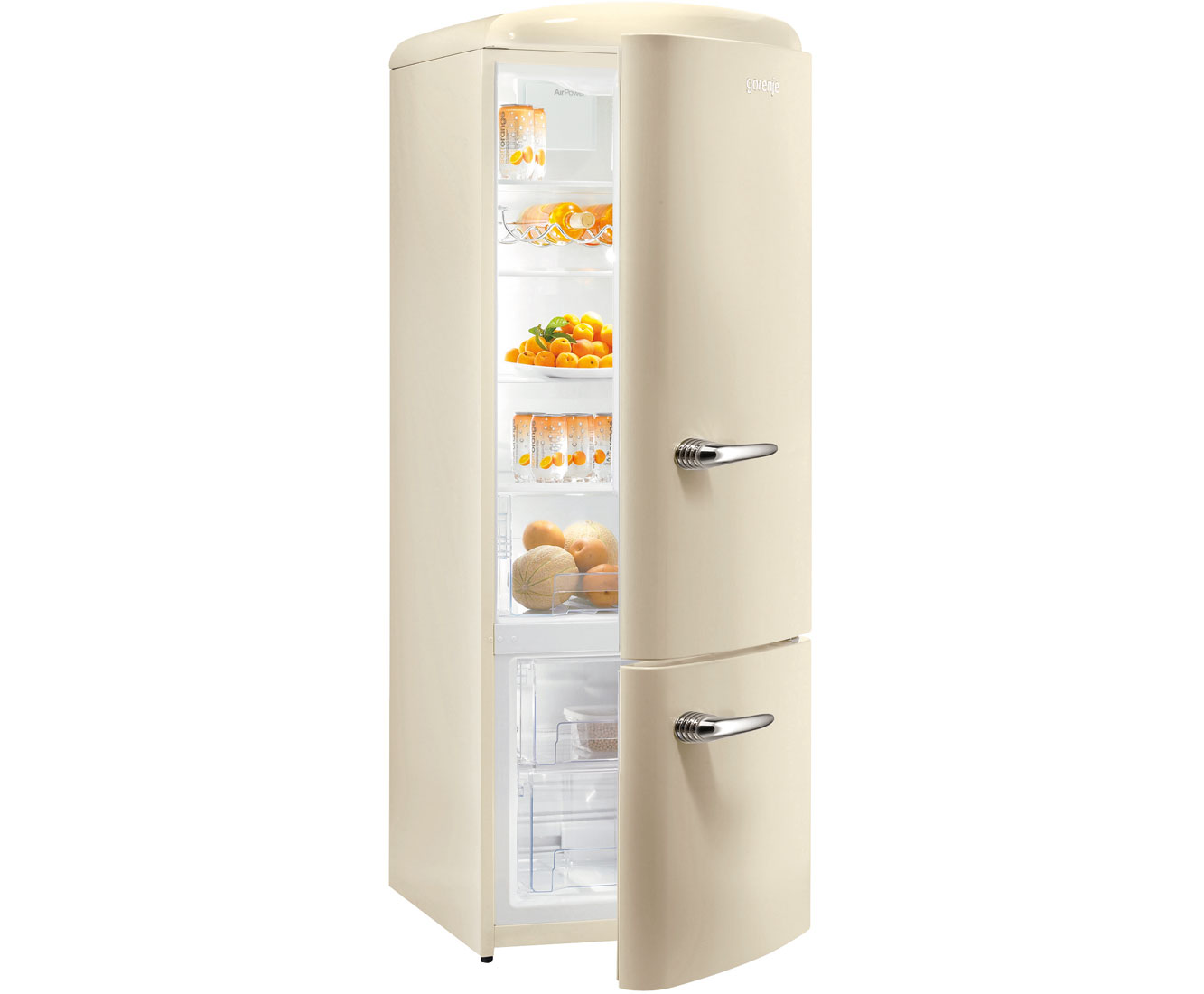 Retro Kühlschrank Idealo : Gorenje retro collection rk oc kühl gefrierkombination
