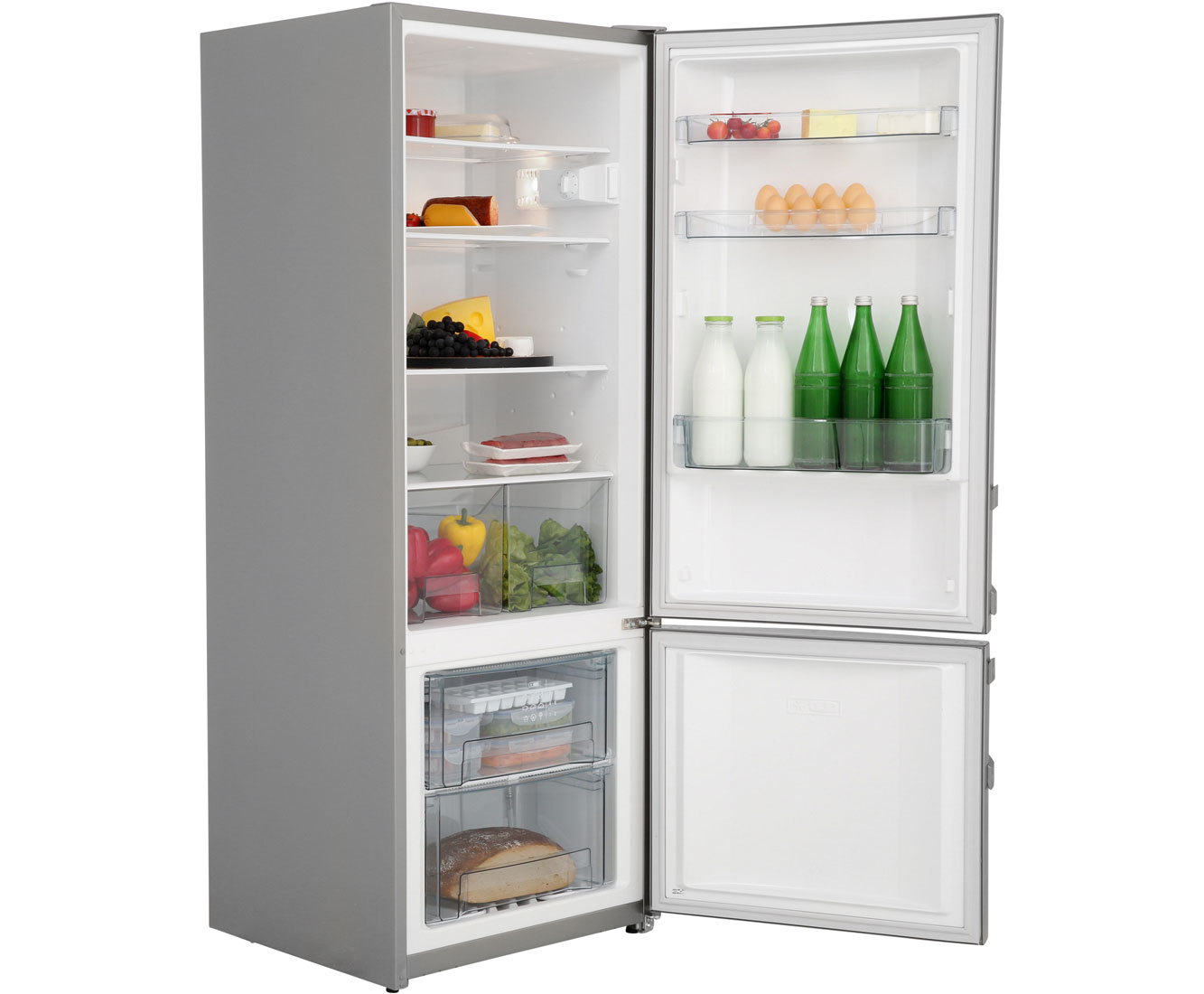 Gorenje Kühlschrank Edelstahl : Gorenje rk kühl gefrierkombination freistehend edelstahl neu