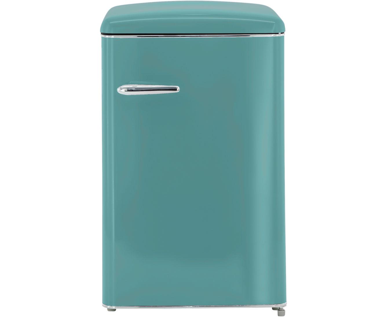 Retro Kühlschrank Blau : Exquisit rks 120 16 rva kühlschrank blau retro design a