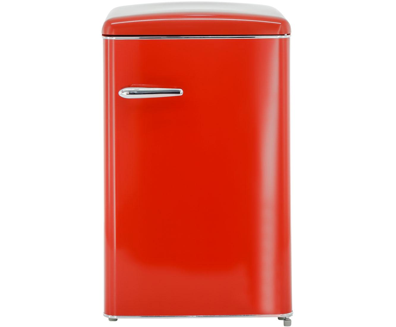 Retro Kühlschrank Rot : Exquisit rks rva kühlschrank rot retro design a