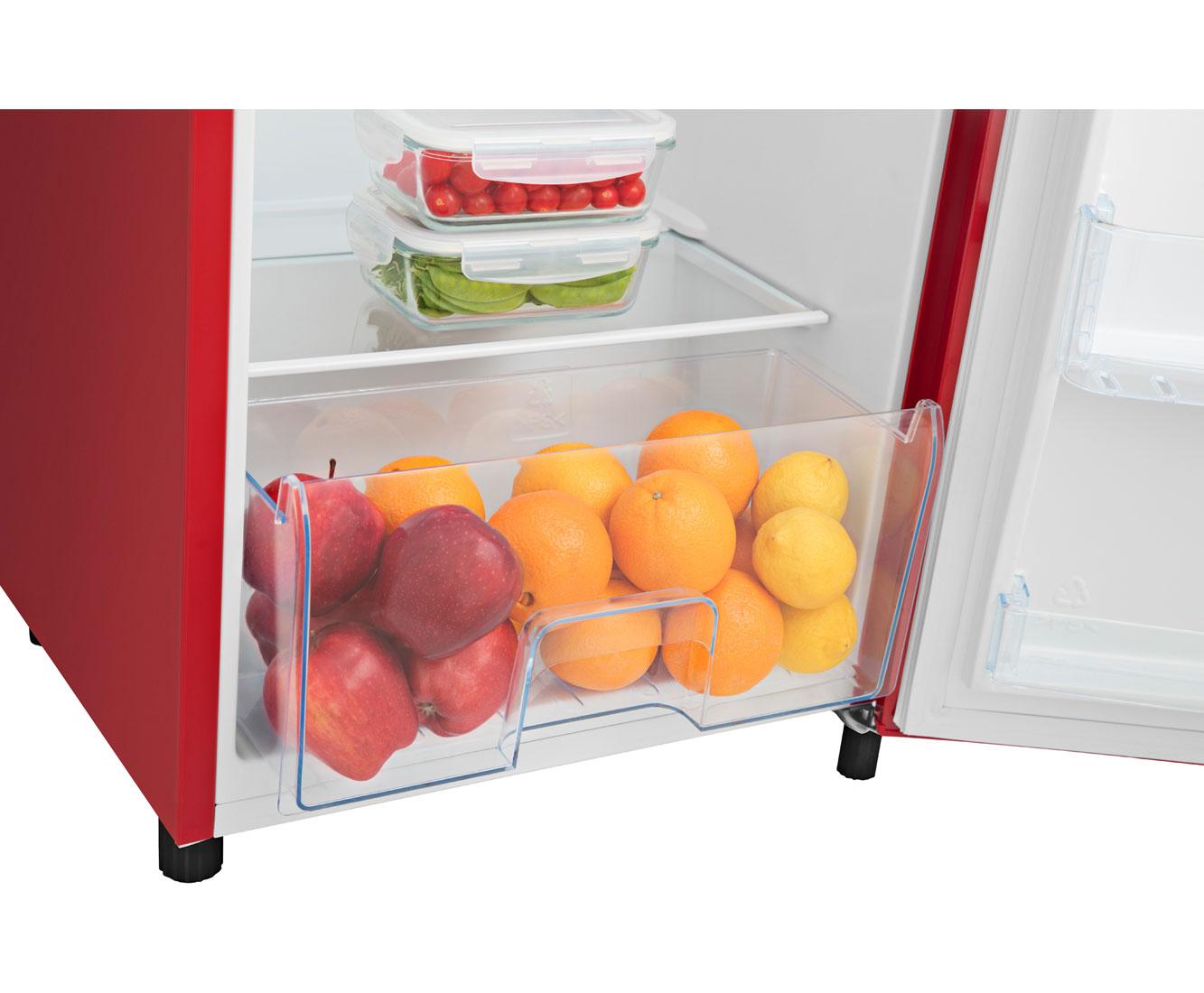 Retro Kühlschrank Unter 40 Db : Hisense rr d ar kühlschrank mit gefrierfach rot retro design