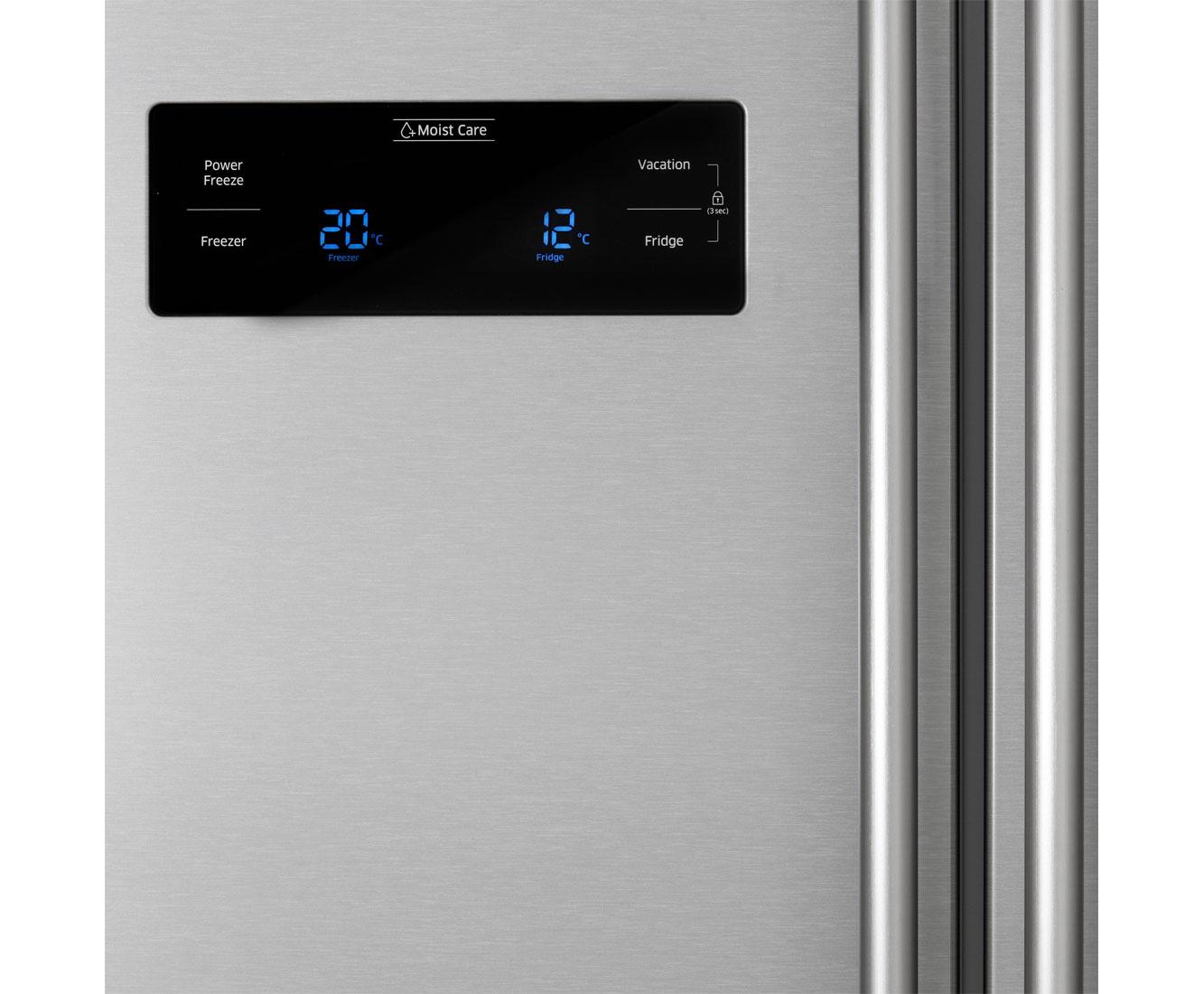 Side By Side Kühlschrank Direkt An Wand : Amerikanische kühlschränke liegen im trend und sind sehr praktisch