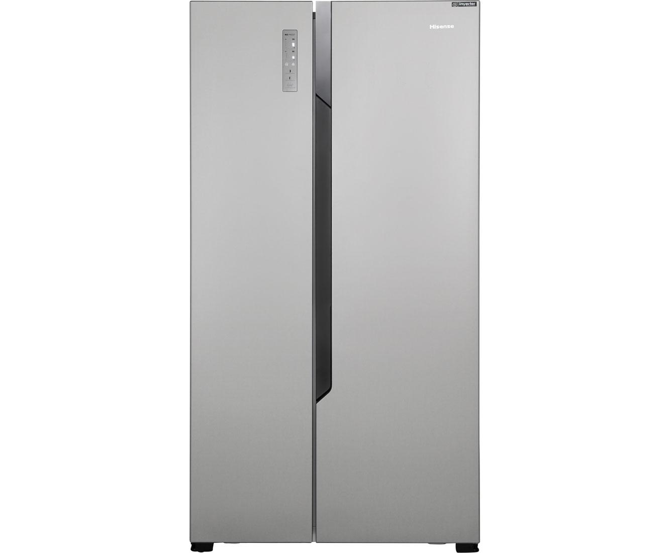 Amerikanischer Kühlschrank Blau : Hisense rs n bc amerikanischer side by side l edelstahl