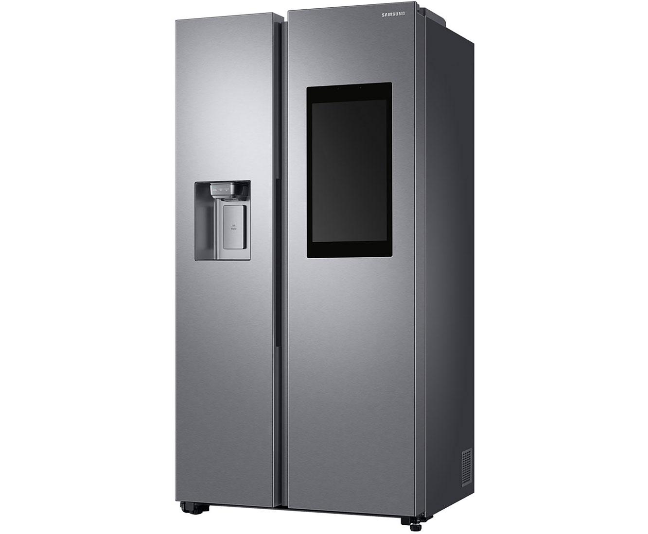 Amerikanischer Kühlschrank Mit Fernseher : Riesen kühlschrank kaufen und sparen samsung side by side beim