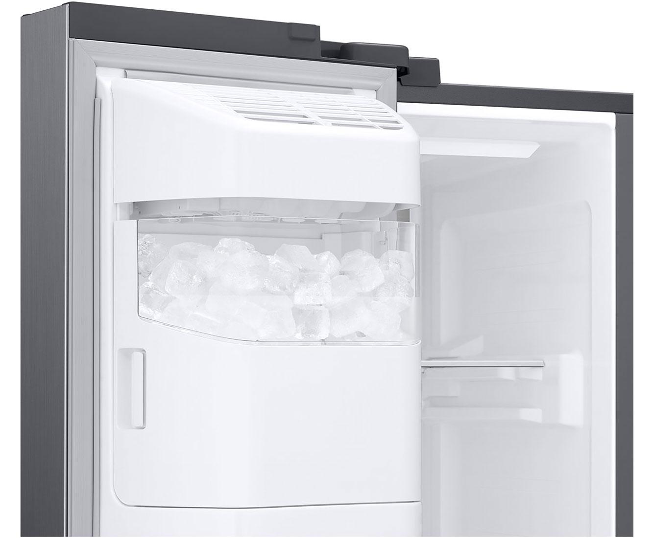 Amerikanischer Kühlschrank Mit Fernseher : Samsung rs68n8941sl ef amerikanischer side by side mit wasserspender