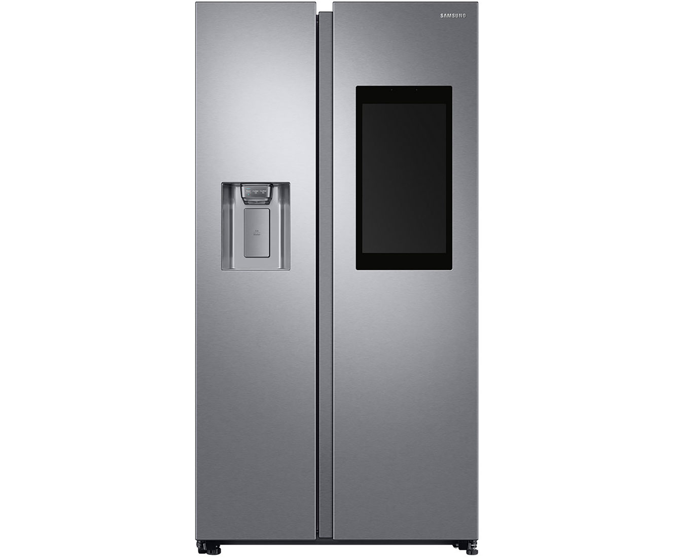 Amerikanischer Kühlschrank Idealo : Samsung rs n sl ef amerikanischer side by side mit