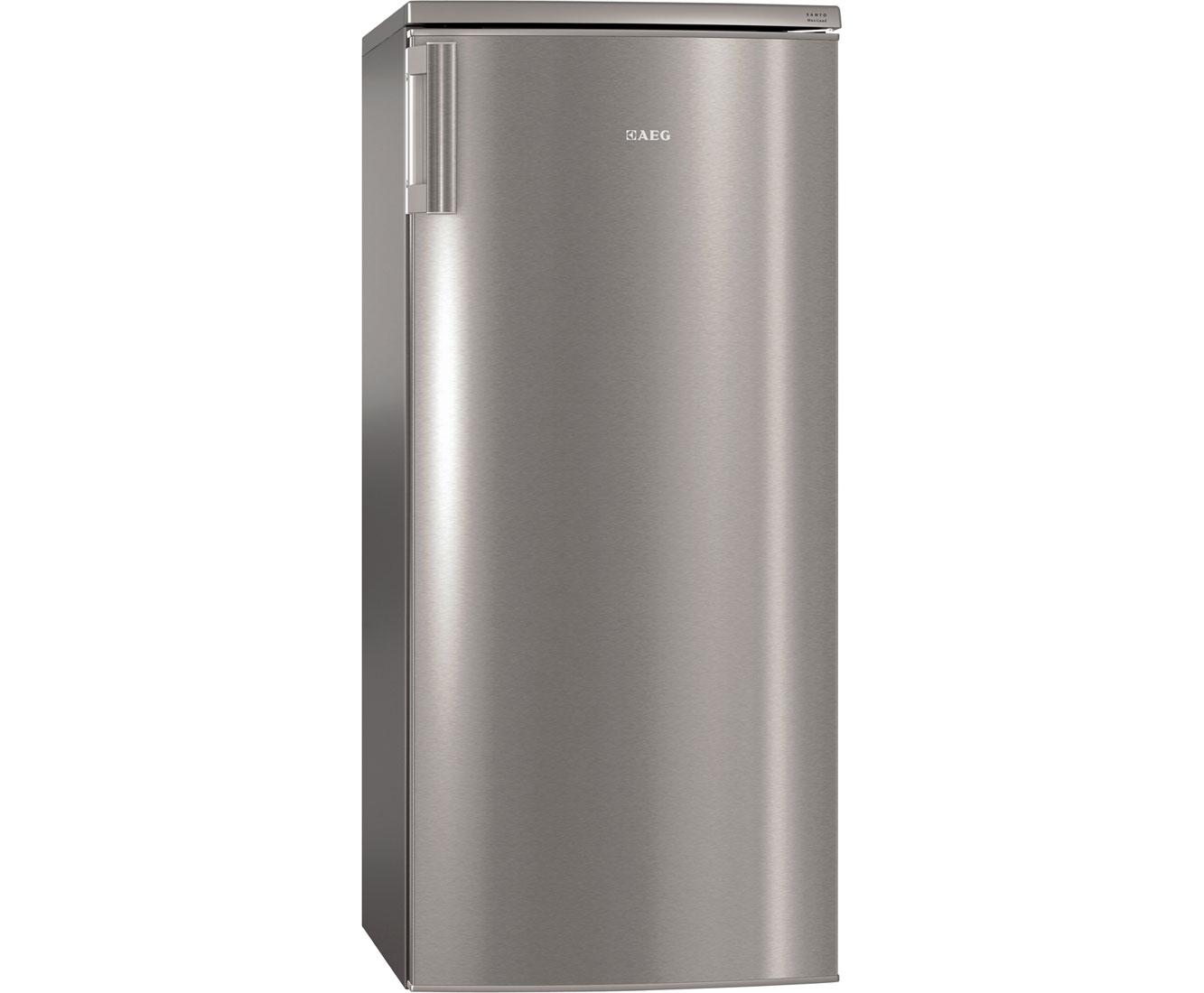 Aeg Kühlschrank Einbau : Aeg santo s kss kühlschrank edelstahl silber a