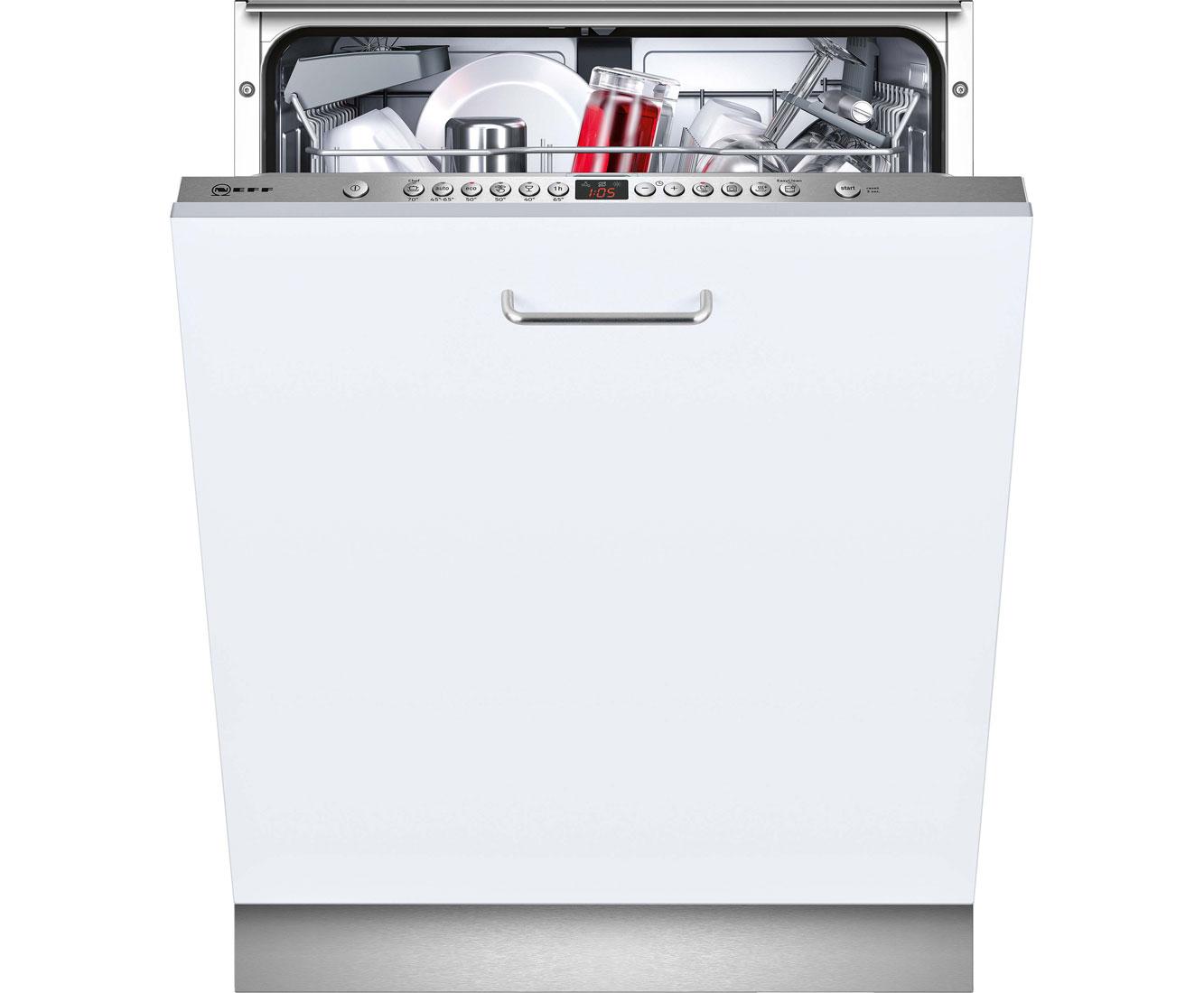 Neff S513I60X0E Geschirrspüler 60 cm - Edelstahl | Küche und Esszimmer > Küchenelektrogeräte > Gefrierschränke | Edelstahl | Neff