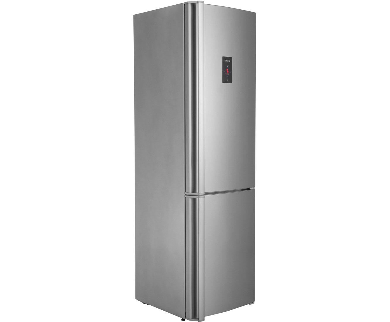Aeg Kühlschrank Santo Temperatur Einstellen : Aeg santo s93930cmxf kühl gefrierkombination mit no frost 60er
