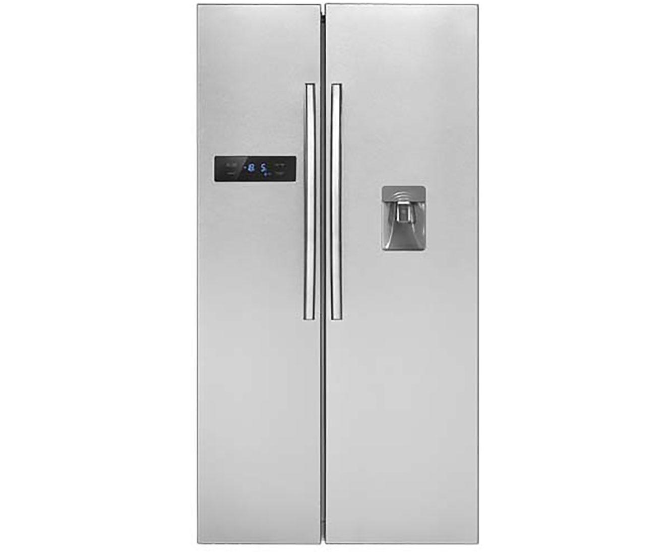 Side By Side Kühlschrank Vorteile Nachteile : Bomann sbs amerikanischer side by side mit wasserspender