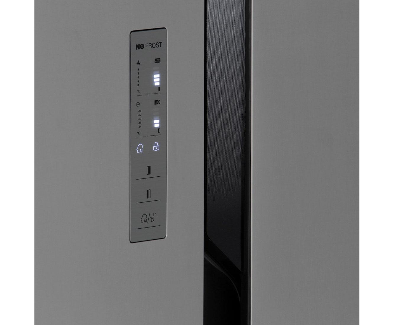 Amerikanischer Kühlschrank Anschlüsse : Hisense sbs a el amerikanischer side by side l