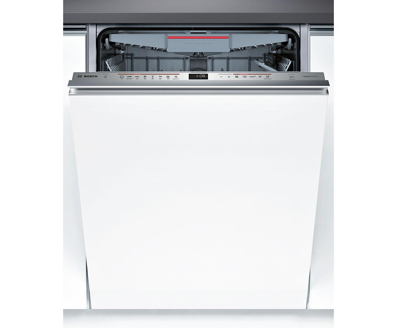 Bosch Serie 6 SBV68MD02E Geschirrspüler 60 cm - Edelstahl   Küche und Esszimmer > Küchenelektrogeräte > Gefrierschränke   Edelstahl   Bosch