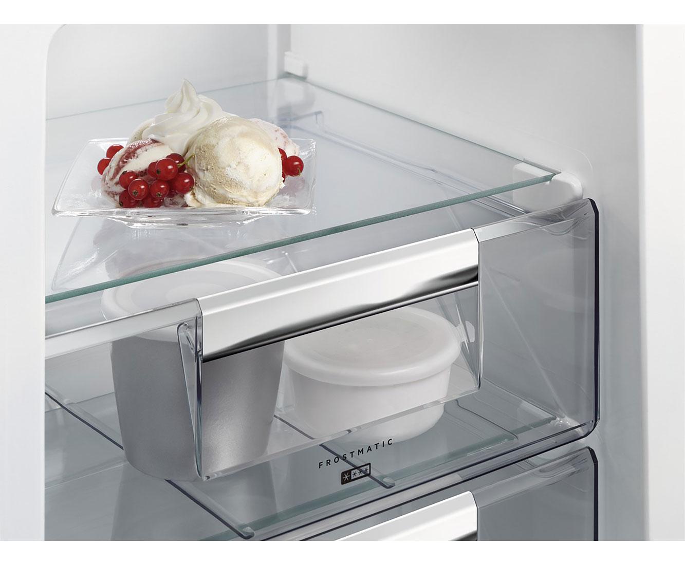 Aeg Kühlschrank Santo Kühlt Nicht : Aeg santo sca als einbau kühl gefrierkombination er nische