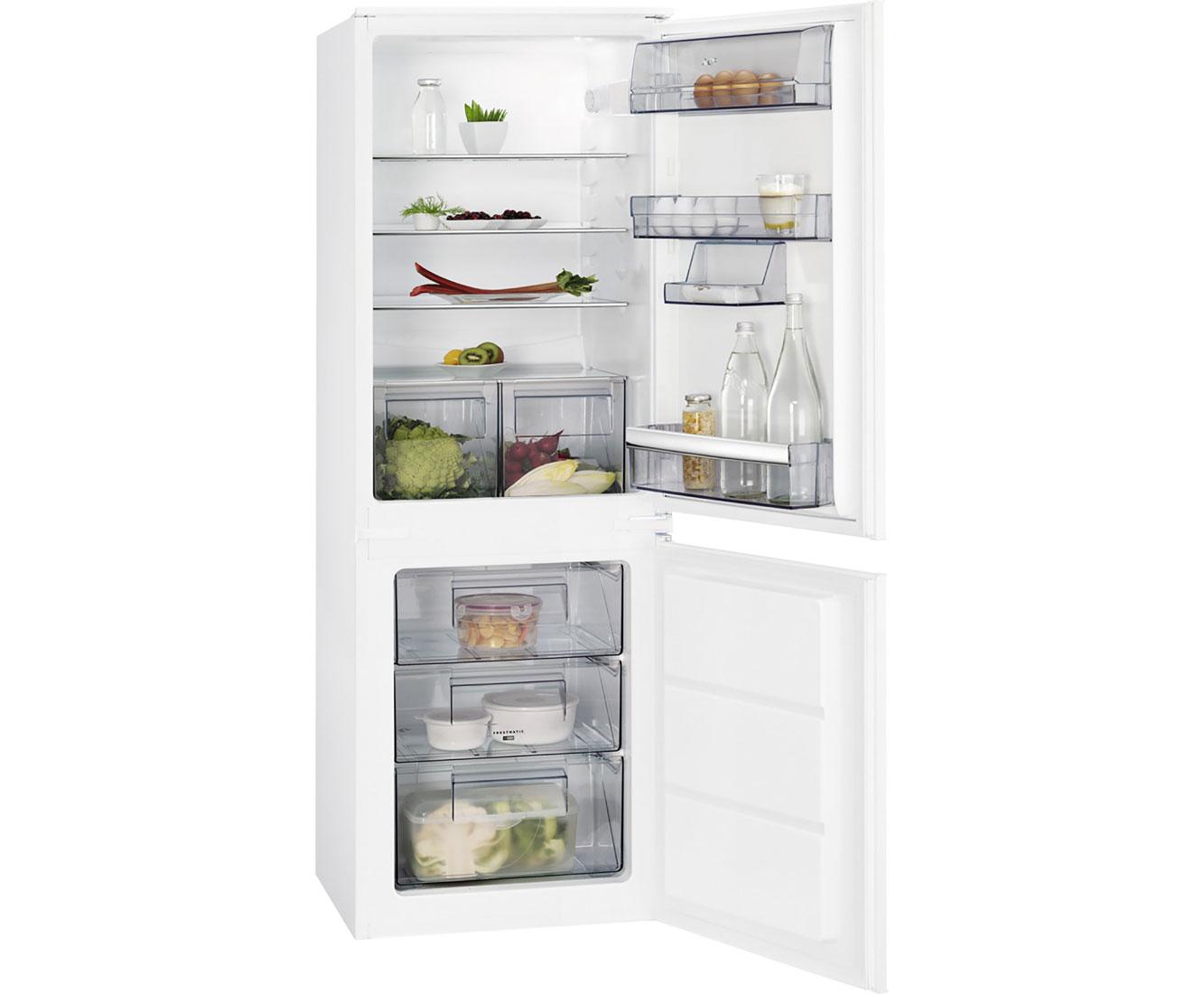 Aeg Kühlschrank Gefrierkombination : Aeg sce ls einbau kühl gefrierkombination er nische
