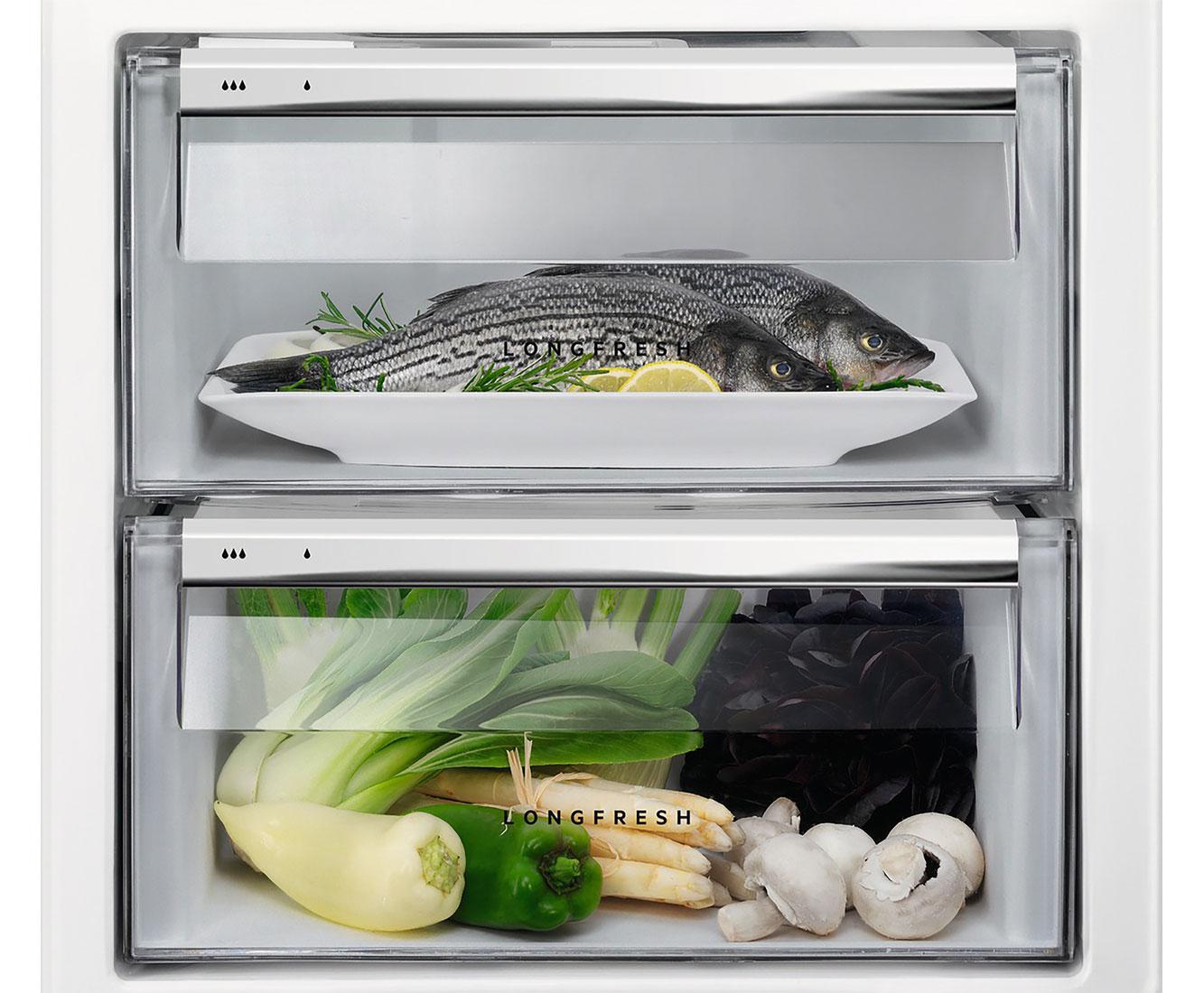 Aeg Kühlschrank Festtür Montage : Aeg sfe zc einbau kühlschrank mit gefrierfach er nische