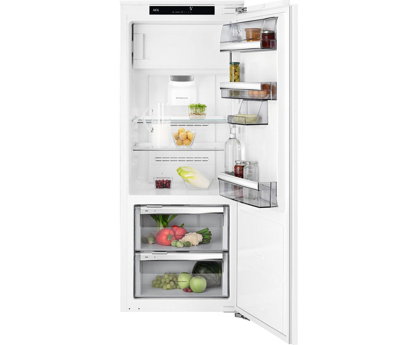Aeg Kühlschrank Ohne Gefrierfach : Aeg sfe81436zc einbau kühlschrank mit gefrierfach 140er nische