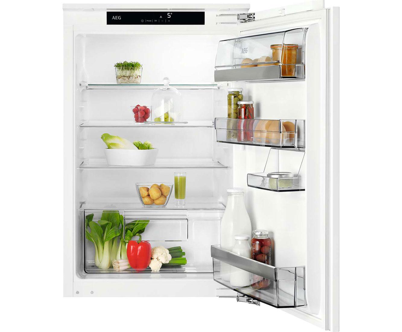 Aeg Kühlschrank Einbau : Aeg ske ac einbau kühlschrank er nische festtür technik a
