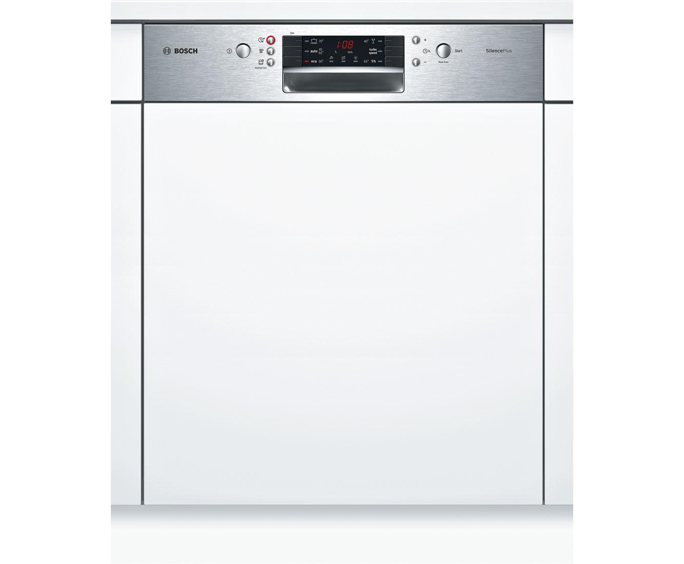 Bosch Serie 4 SMI46KS00E Geschirrspüler 60 cm - Edelstahl   Küche und Esszimmer > Küchenelektrogeräte > Gefrierschränke   Edelstahl   Bosch