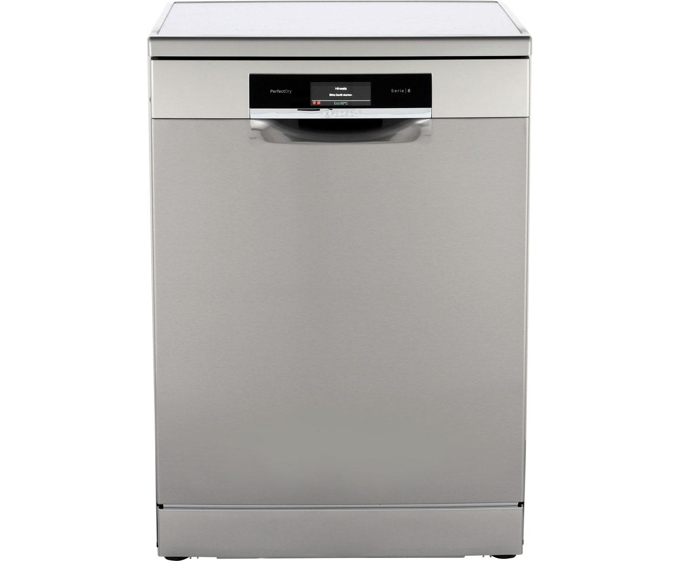 Bosch Serie 8 SMS88TI36E Geschirrspüler 60 cm - Edelstahl | Küche und Esszimmer > Küchenelektrogeräte > Gefrierschränke | Edelstahl | Bosch