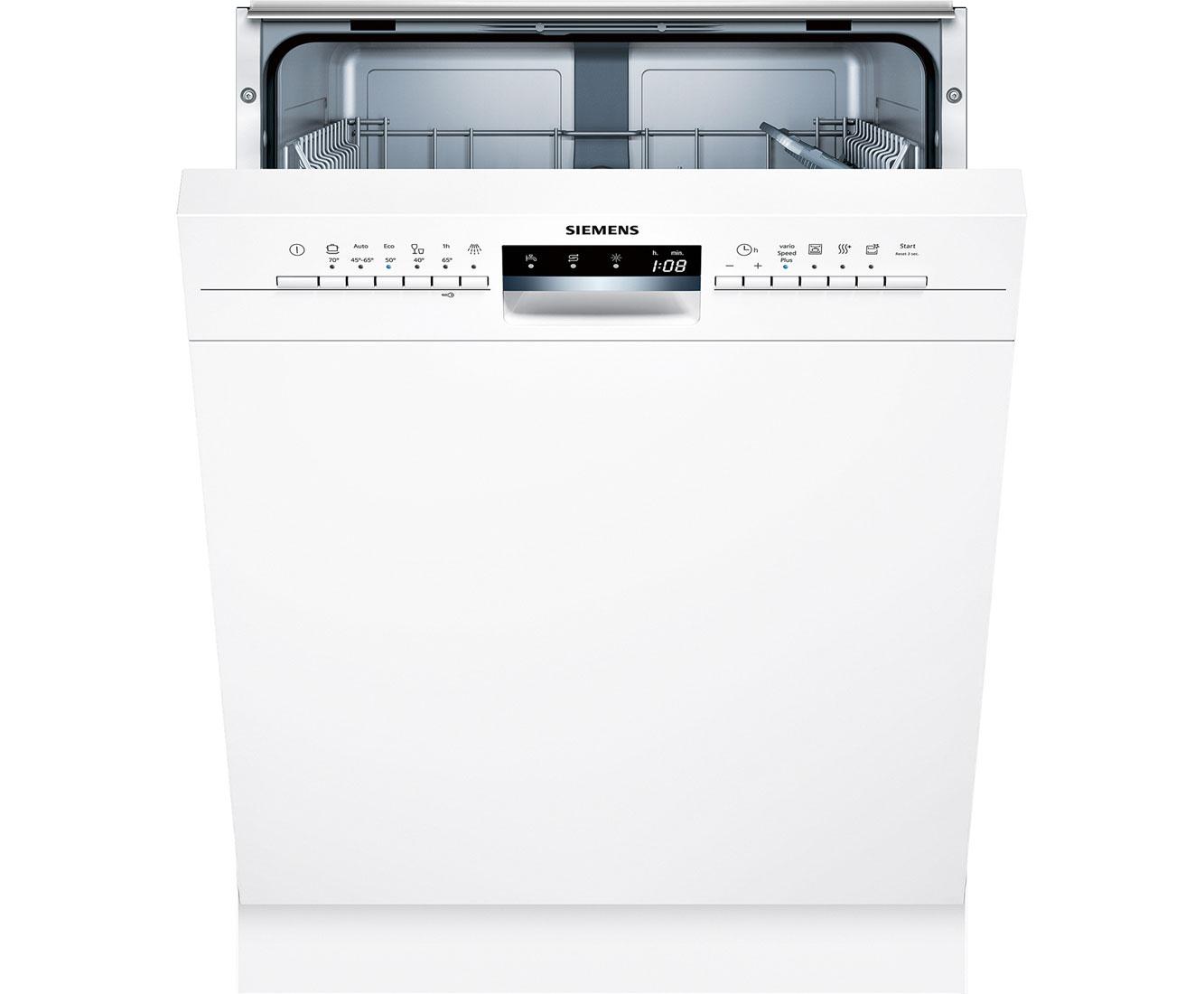 siemens sn336w01ge iq300 geschirrsp ler unterbau 60cm wei. Black Bedroom Furniture Sets. Home Design Ideas
