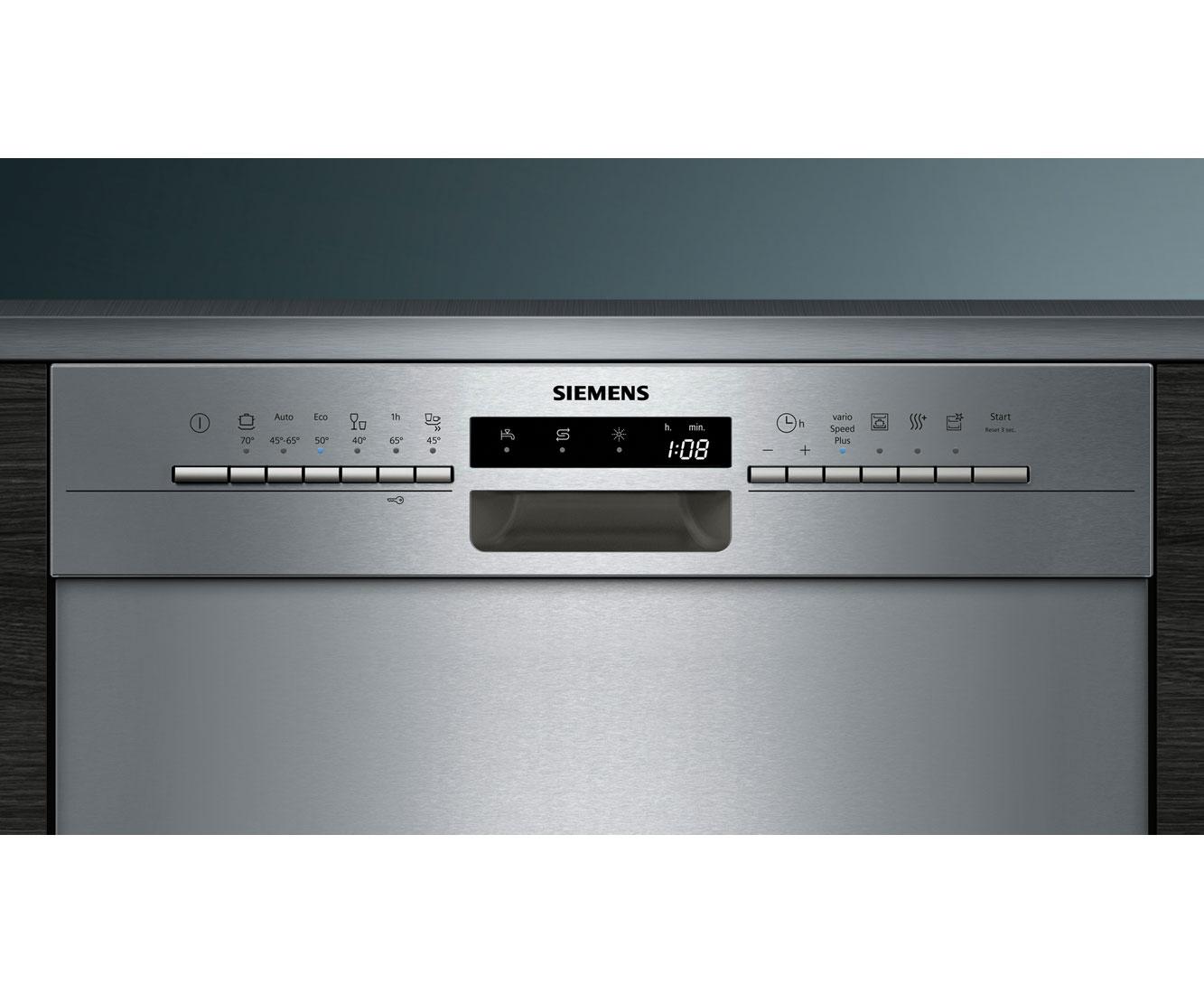 Siemens Iq300 Geschirrspüler Sn436s04ae Unterbau Ao De