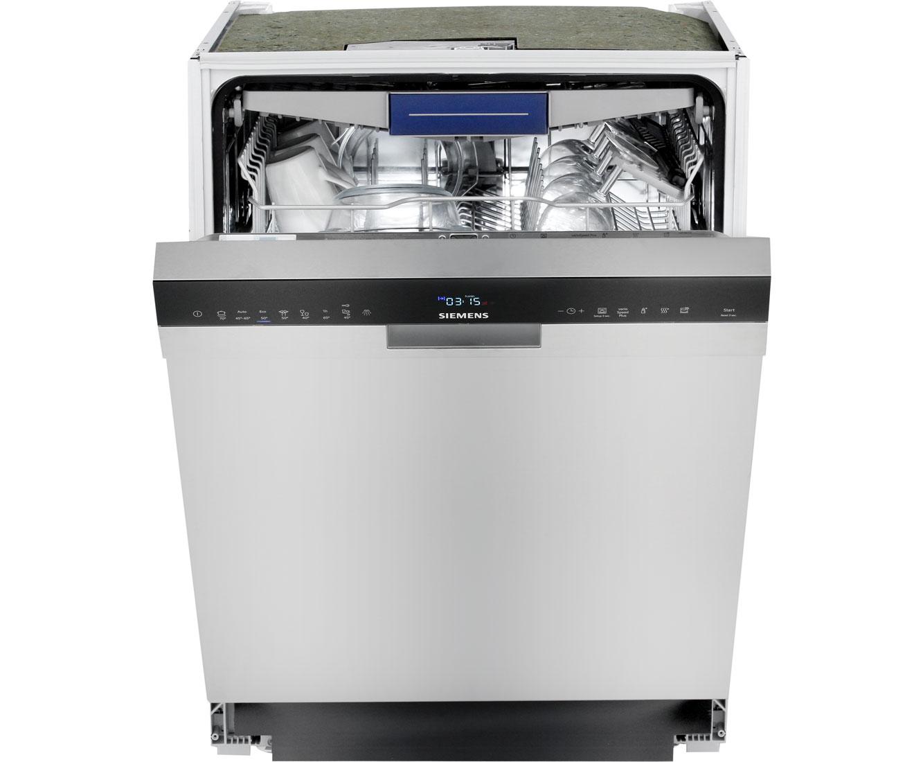 Siemens Iq500 Sn458s02me Unterbau Geschirrspuler 60 Cm Edelstahl A