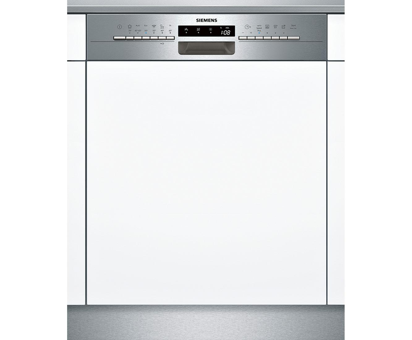 Siemens iQ300 SN536S01CE Geschirrspüler 60 cm - Edelstahl | Küche und Esszimmer > Küchenelektrogeräte > Gefrierschränke | Edelstahl | Siemens