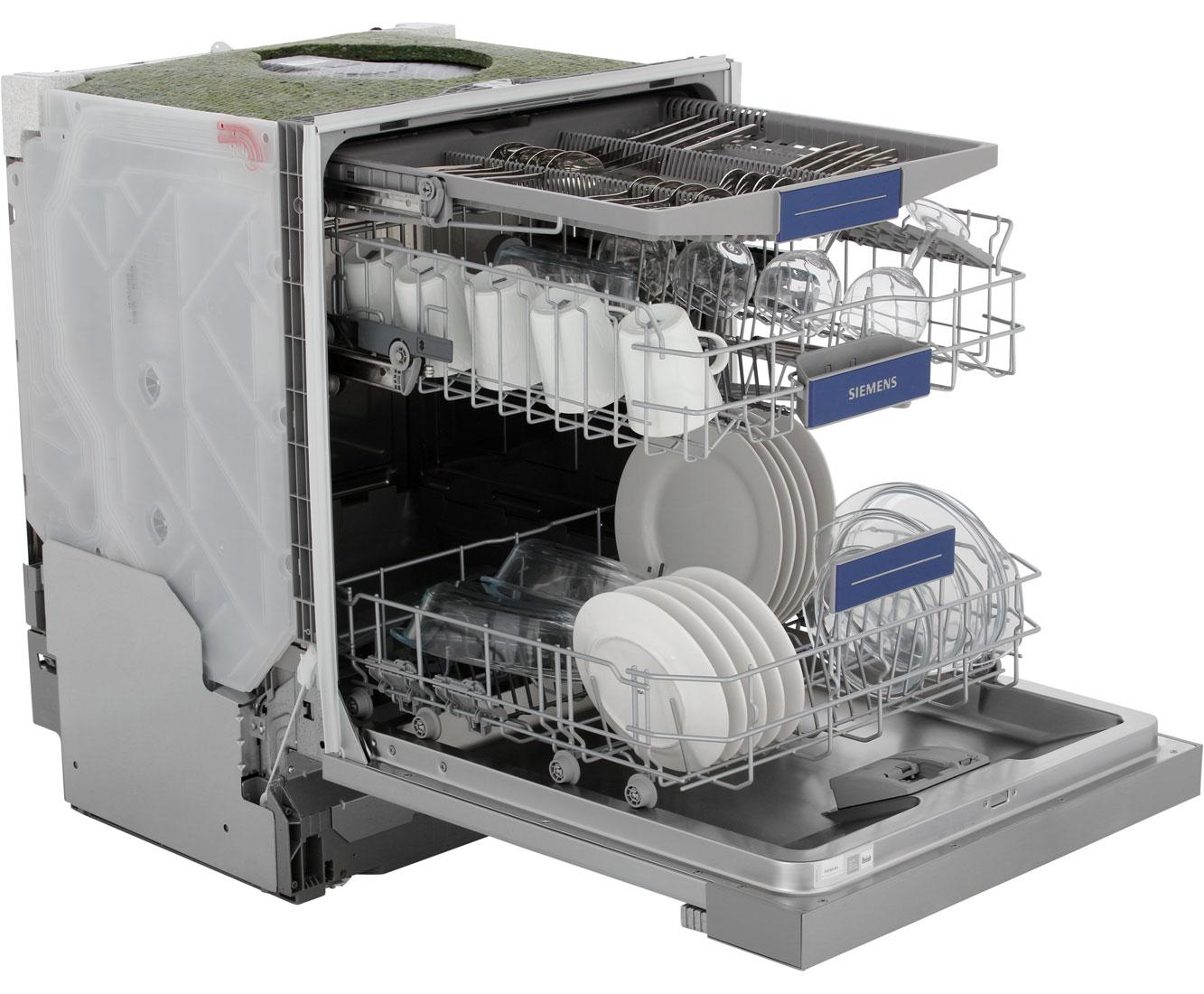 Siemens Sn536s01ke Teilintegrierter Geschirrspüler 60 Cm