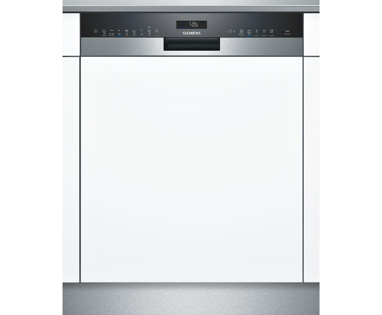 iQ500 SN558S02ME Geschirrspüler 60 cm - Edelstahl