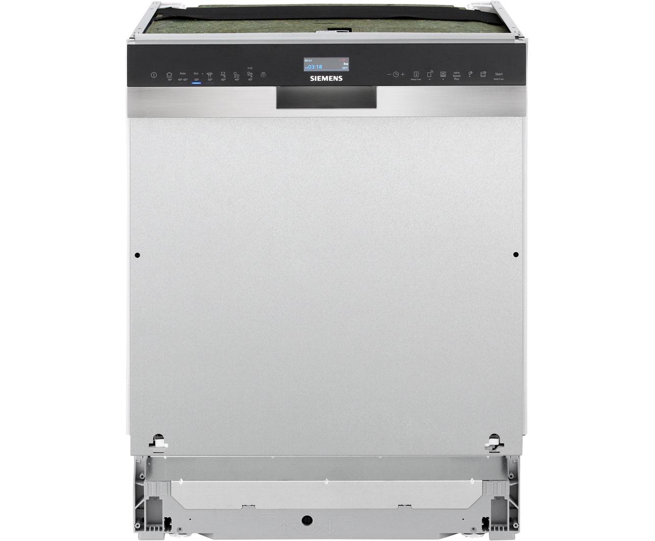 iQ500 SN558S06TE Geschirrspüler 60 cm - Edelstahl
