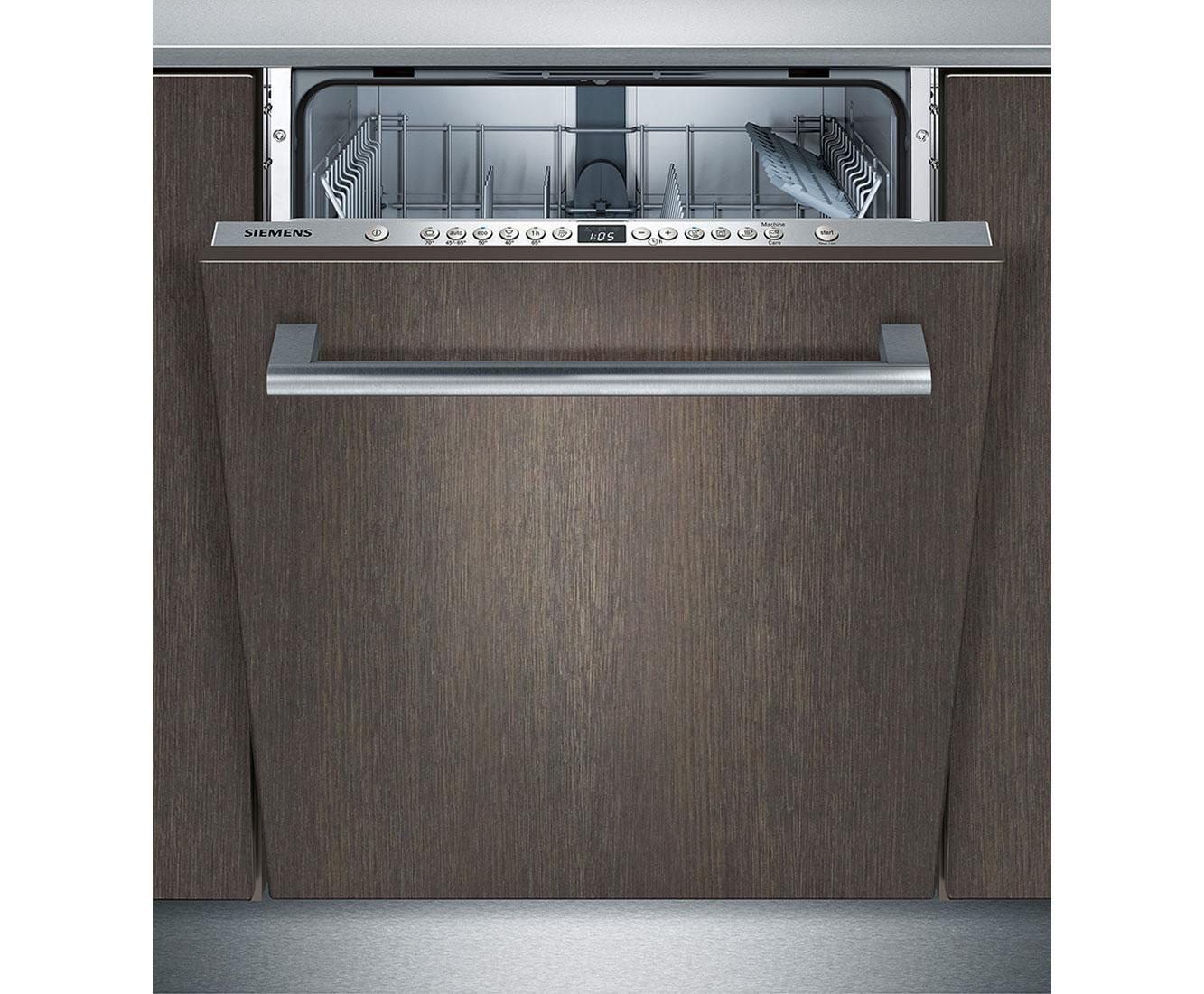 Siemens iQ300 SN636X01GE Geschirrspüler 60 cm - Edelstahl   Küche und Esszimmer > Küchenelektrogeräte > Gefrierschränke   Edelstahl   Siemens
