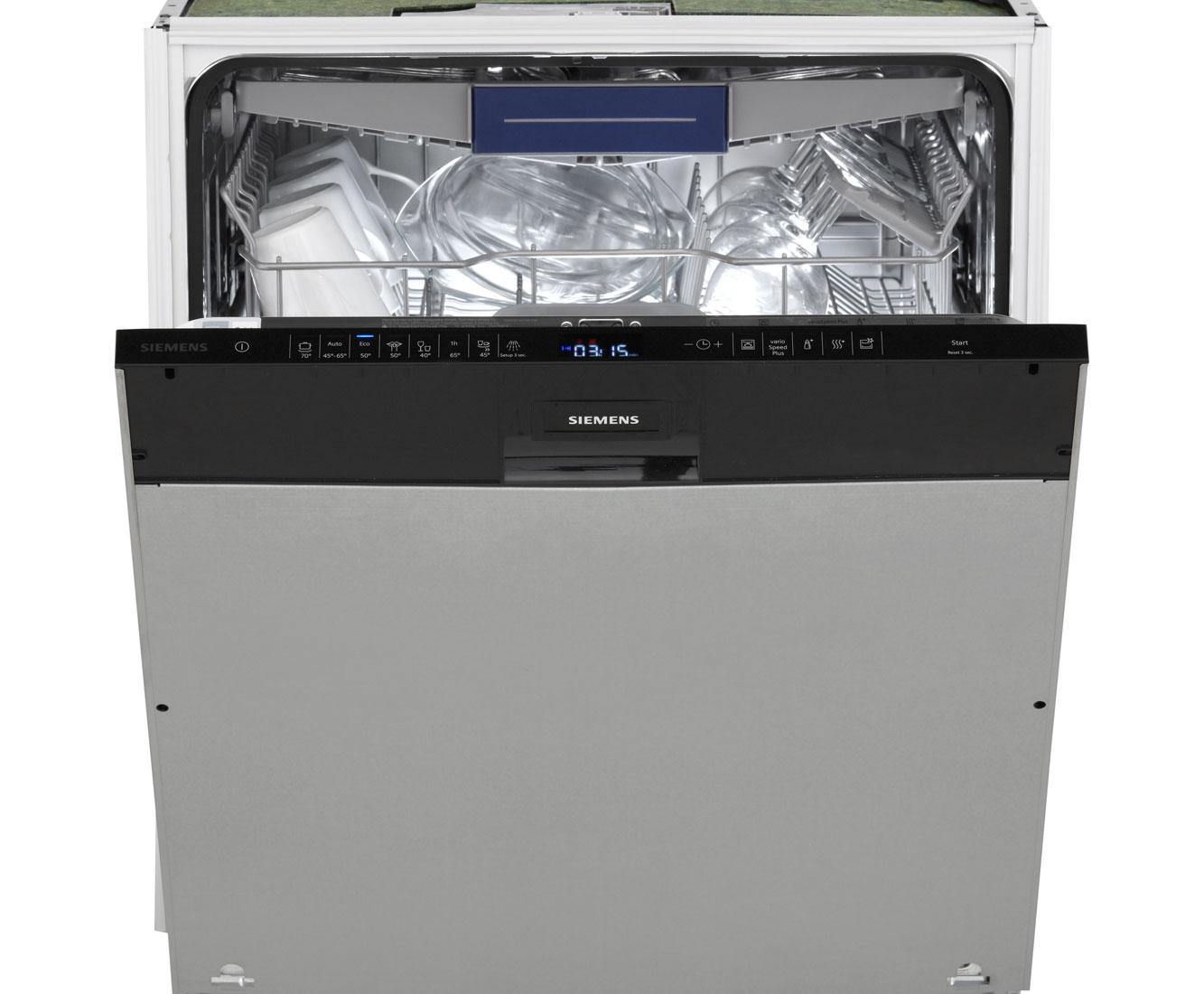 Siemens SN658D02ME Vollintegrierter Geschirrspüler   60 Cm, A++