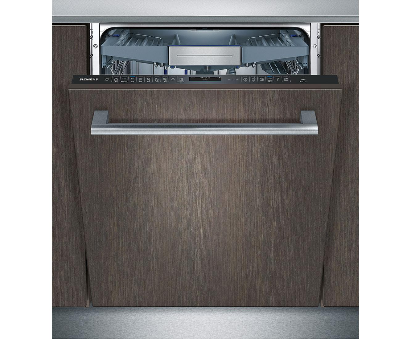 Siemens Iq500 Sn658x06te Vollintegrierter Geschirrspuler 60 Cm A