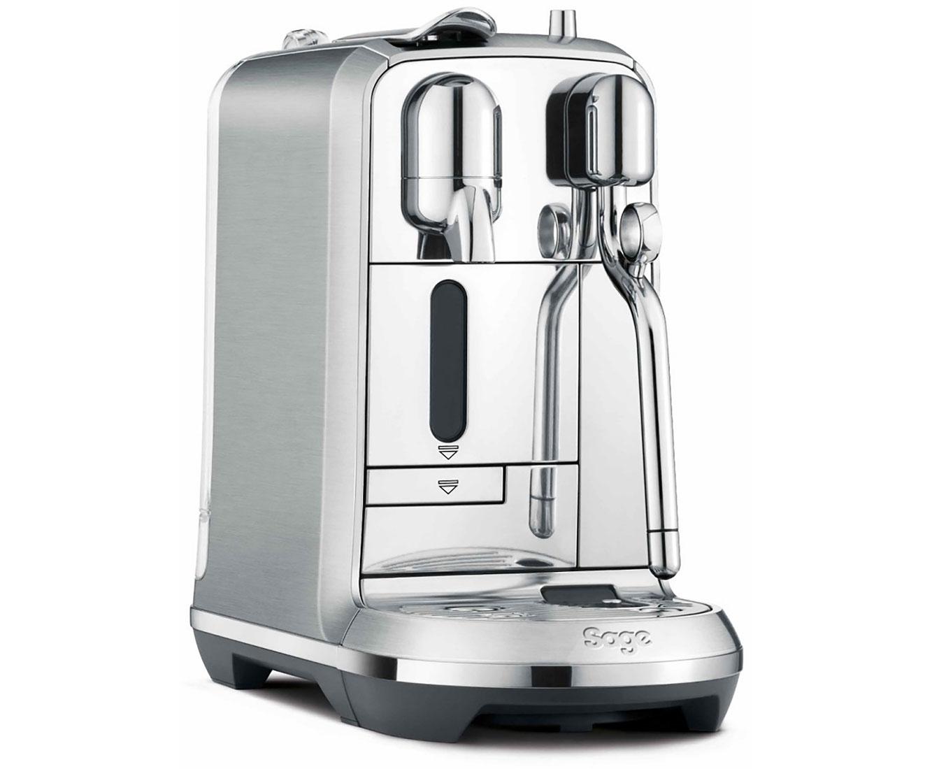 Sage Nespresso Creatista Plus SNE800BSS4EEU1 Kaffeemaschinen - Gebürsteter Edelstahl / Chrom | Küche und Esszimmer > Kaffee und Tee > Espressomaschinen | Chrom | Edelstahl | Sage Nespresso