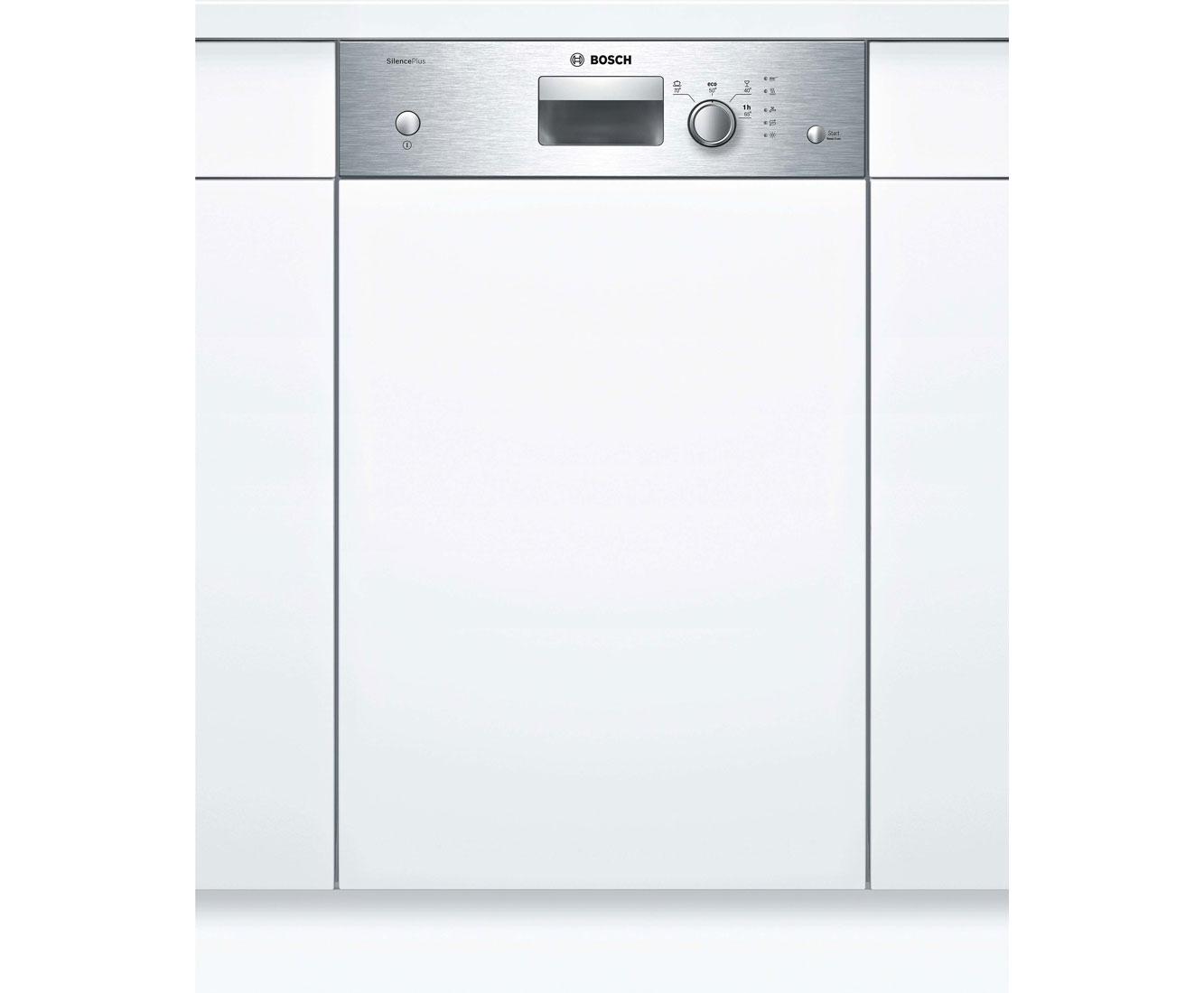 Bosch Serie 2 SPI24CS00E Geschirrspüler 45 cm - Edelstahl   Küche und Esszimmer > Küchenelektrogeräte > Gefrierschränke   Edelstahl   Bosch